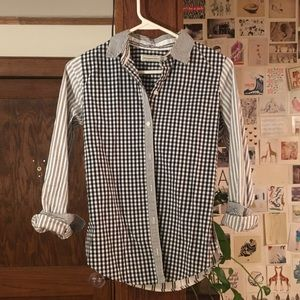 Abercrombie patterned shirt